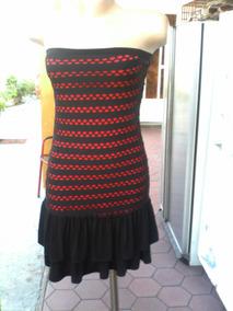 f170569b9 Vendo Vestido Y Sirve D Falda En Licra Y Tela De Malla L
