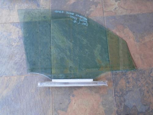 vendo vidrio delantero izquierdo de mercedes benz e320, 2000