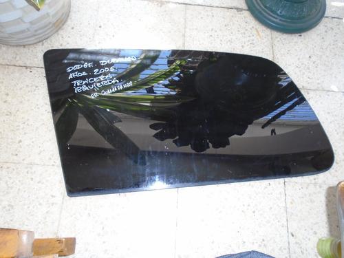 vendo vidrio trasero izquierdo  dodge durango , año 2005
