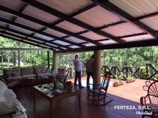 vendo villa de 4 hab/ 250 mt2 en las alturas de jarabacoa