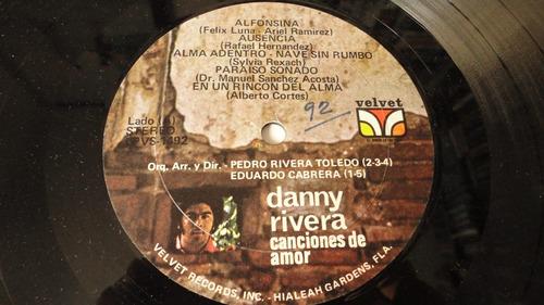 vendo vinilo danny rivera canciones de amor