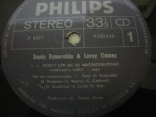 vendo vinilo -santa esmeralda -dont let me be misunderslood