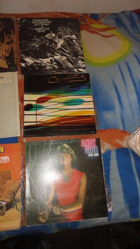 vendo vinilos variados  rock dance y otros