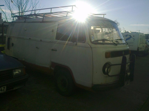 vendo volkswaguen kombi 1600 cc furgon