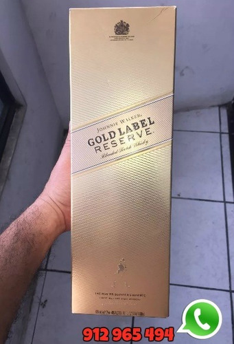 vendo whisky johnnie walker etiqueta dorada