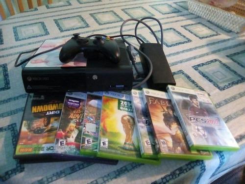 vendo xbox 360, con 6 juegos originales y destraba rgh