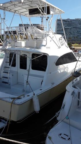 vendo yate crucero luhrs 38 pies mod convertible americano