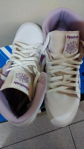 vendo zapatillas botitas reebok