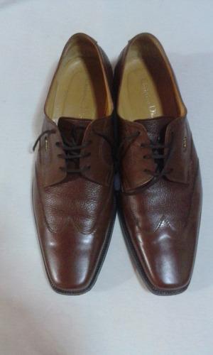 vendo zapatos chistian dior color marron talla 8-1/2 (41-42)