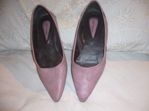 vendo zapatos de cuero y de marca
