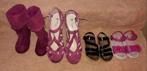 vendo zapatos de niña las botas talla 8 los zapatos de mujer