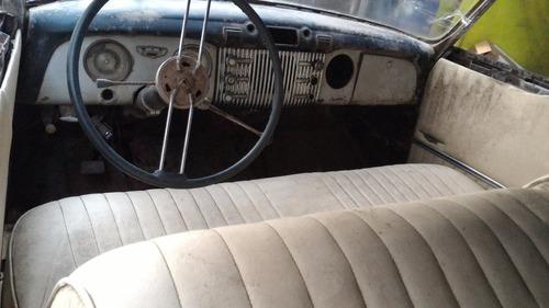 vendo|troco buick 1952 coupe 8 cil linha 2 portas