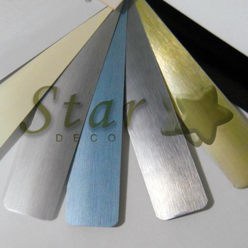 veneciana de aluminio 25 mm con cadena metálica - star deco