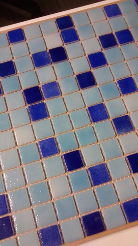 venecita mix 2 azules y celeste calidad premium 2,5x2,5 x m2