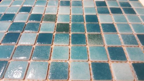 venecita mix verdes esmeralda calidad premium 2,5x2,5 x m2