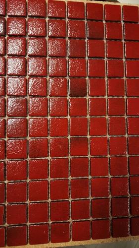 venecita tono lacre calidad premium 2,5x2,5 xm2