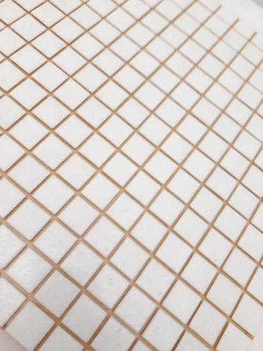 venecitas biseladas blancas 2x2 de piscina pileta o baño !!