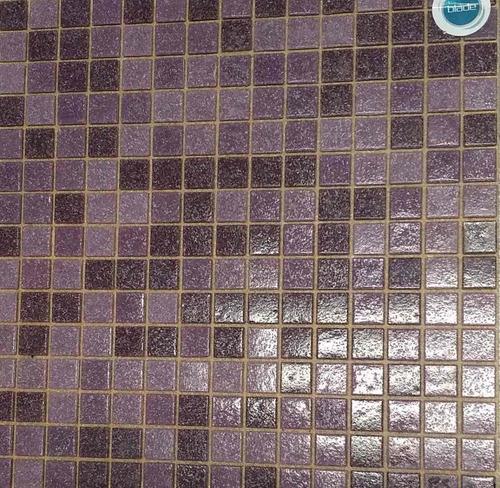 venecitas biseladas mix 3 tonos de violeta 2x2cm