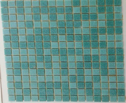 venecitas biseladas mix aguamarina 2x2 x m2