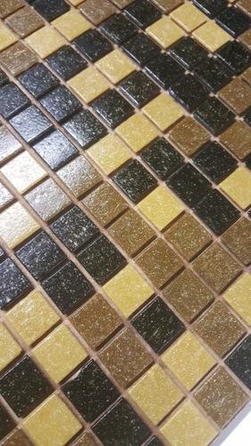 venecitas biseladas mix marron medio 2x2 para pileta o baño
