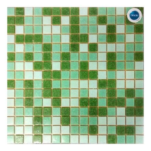 venecitas biseladas mix verdes 2x2 para pileta o baño !!