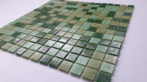 venecitas biseladas - mix verdes - precio x m2 - oferta