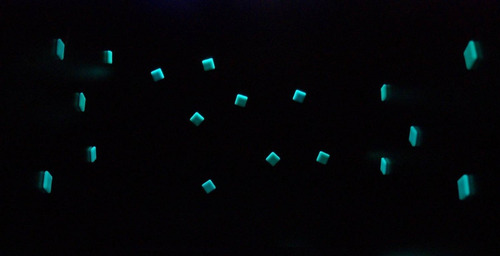 venecitas luminiscentes por plancha para piscinas o paredes