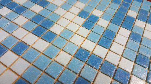venecitas mix tres celestes biseladas para piscinas