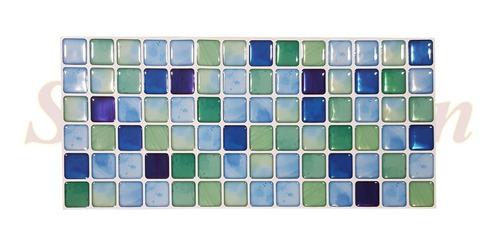 venecitas relieve autoadhesivas pvc para baño cocina azulejo