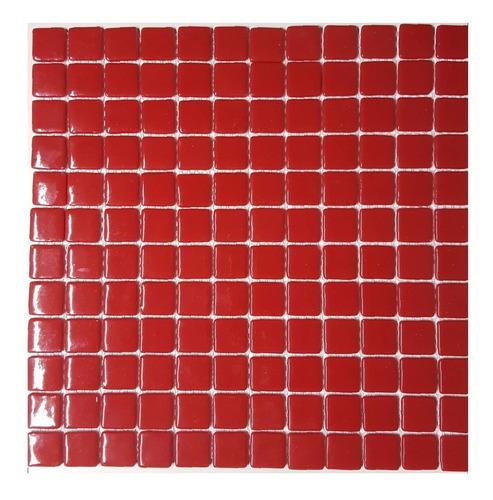 venecitas rojo premium 2,5x2,5 unicas por plancha liquido