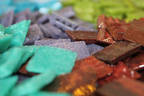 venecitas sueltas a granel 1kg - mosaiquismo, artesanías