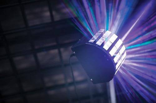 venetian spg017k led derby rgbw efecto led dj dmx audio