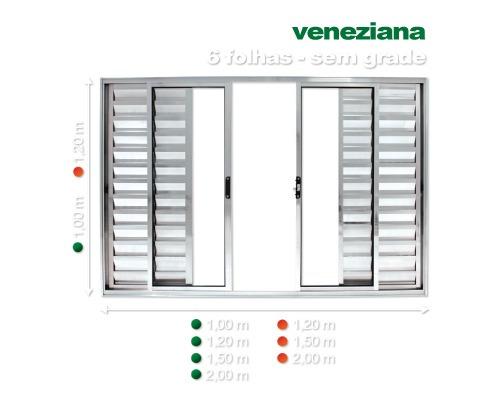veneziana d alum 6 f s grade 1x 2 promoção direto da fabrica