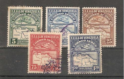 venezuela 1922 aereas mapas biplano avion
