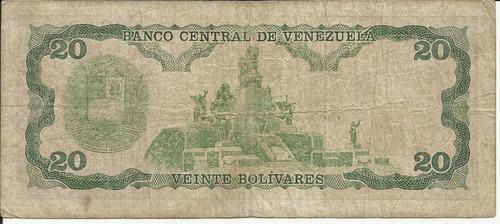 venezuela 20 bolívares