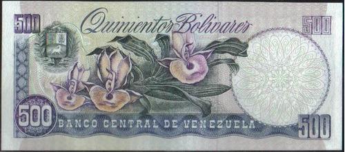 venezuela 500 bolivares 5 jun 1995 serie k 8 dig p67e