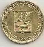 venezuela bañado en oro 18k real de plata 1960
