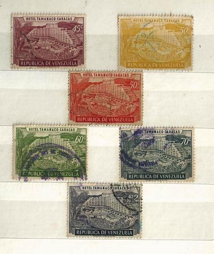 venezuela bloque de 15 -  1957/8 tamanaco