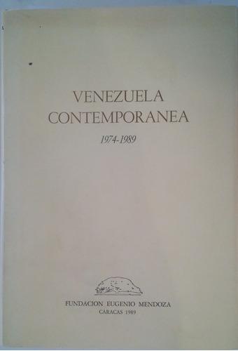 venezuela contemporanea 1974 1989   usado