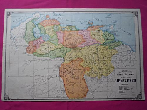 venezuela mapa coleccion billiken por bemporat
