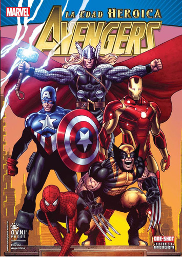 vengadores / avengers edad heroica / marvel / ovnipress