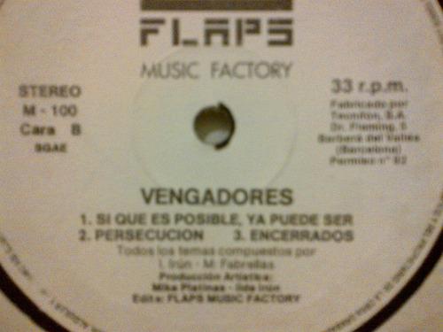 vengadores - ya venga vinyl varios