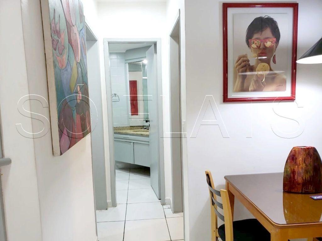 venha morar em um ótimo flat no jardim paulista - sf24962