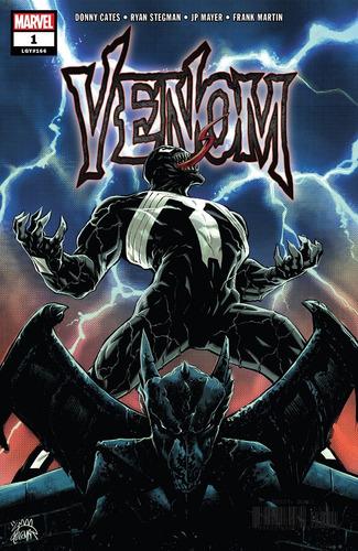 venom #1 - blank variant cover (2018) marvel lgy #166