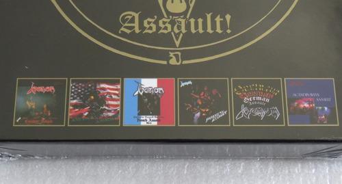 venom assault! 6 cd box canadian american japanese assault