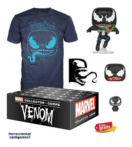 venom collector corps  funko pop venom marvel pelicula