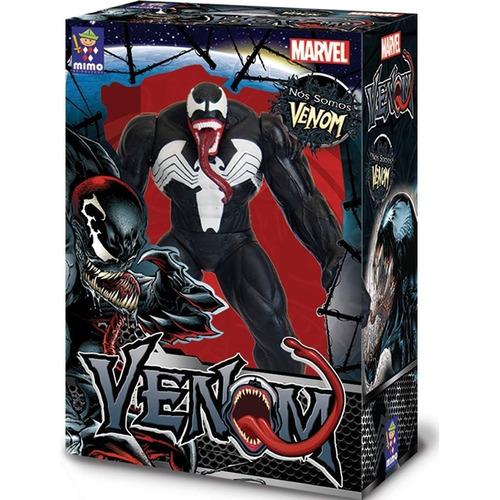 venom gigante de 50cm marvel original mimo brinquedos 0459
