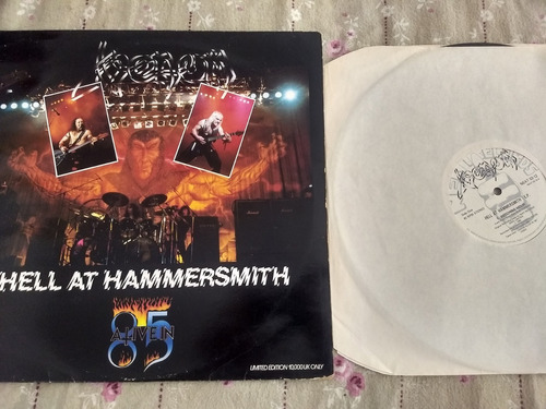 venom - hell at hammersmith lp  uk  slayer sodom, hellhammer