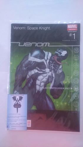 venom space knight #1 (variante) editorial televisa