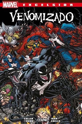 venom venomizado - marvel comics - robot negro